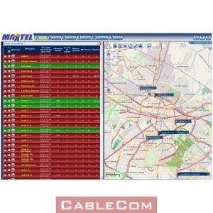 GPS система за проследяване и управление на автопаркове MaxTrack