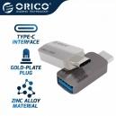 Orico  Adapter OTG USB 3.1 Type C to Type A/F, Metal - CTA2-SV