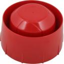 Аналогово-адресируема сирена за директно свързване в кръга, червена, с изолатор System Sensor WMSOU-RR-P02