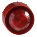 Аналогово-адресируема сирена с лампа за директно свързване в кръга, червена System Sensor WMSST-R-P01