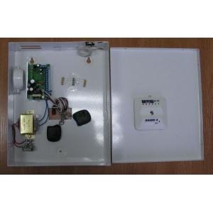 Контролен панел GUARD с ДУ и индикация, 4 зони свободно програмируеми, 2 х ДУ, вградена сирена, 3 изхода