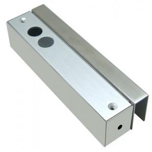 Комплект П-образни планки за заключване на стъклена врата с брава болт H-200SLD UG200