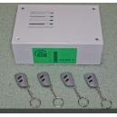 Алармена система BSM Saturn Home 5 с 2 дистанционни управления с динамичен код