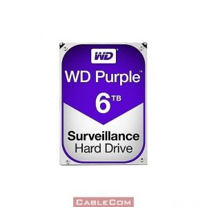 Хард диск WD Purple Surveillance, 6TB, 64MB, SATA 3