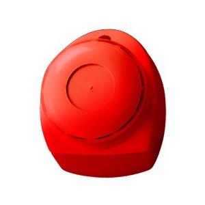 Сирена вътрешна с лампа, пластмасова кутия, 18-24V, 80 mA, 100 dB