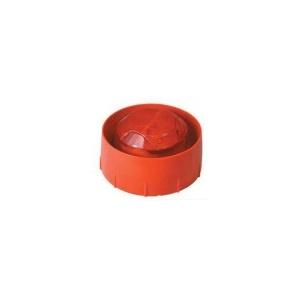 Аналогово-адресируема сирена с лампа за директно свързване в кръга, червена, с изолатор System Sensor WMSST-R-P02